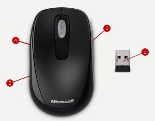 890192de35b Microsoft Wireless Mobile Mouse 1000 NZ